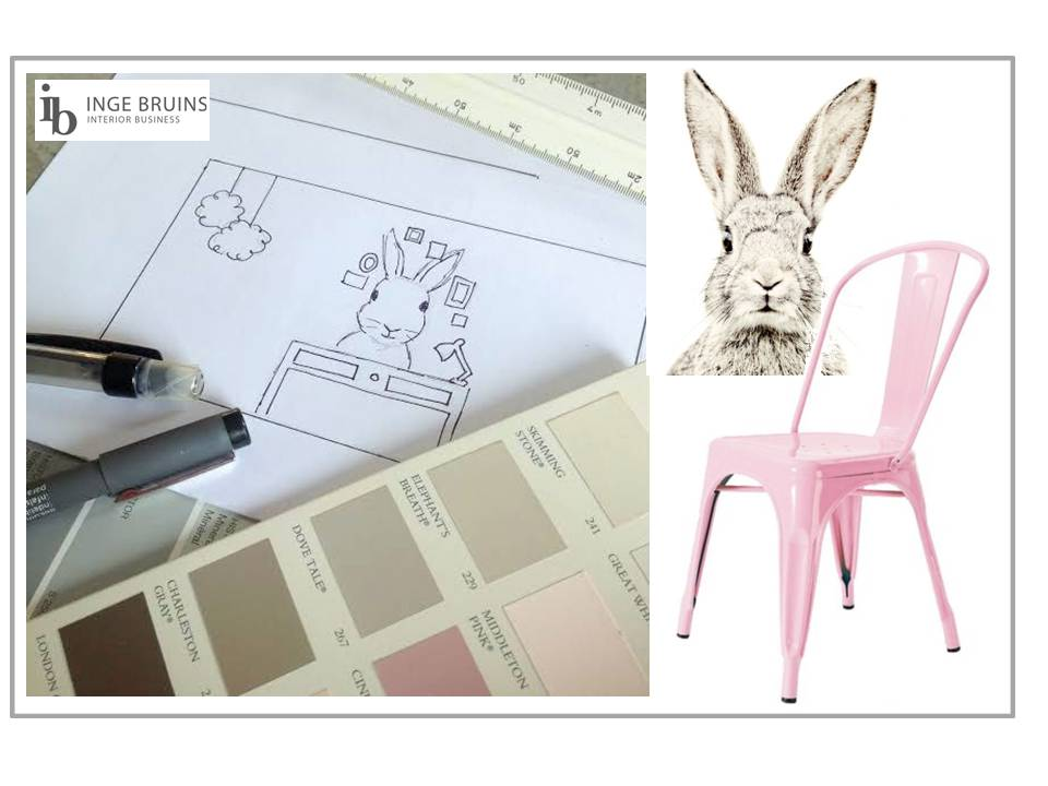 konijn collage